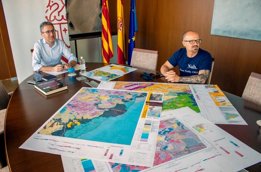 Arcadi España resalta la apuesta de la Generalitat por impulsar la cartografía en la lucha contra el cambio climático
