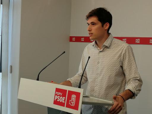 Borja Sanjuán sustitirá a Ramón Vilar como concejal de hacienda en el ayuntamiento de Valencia