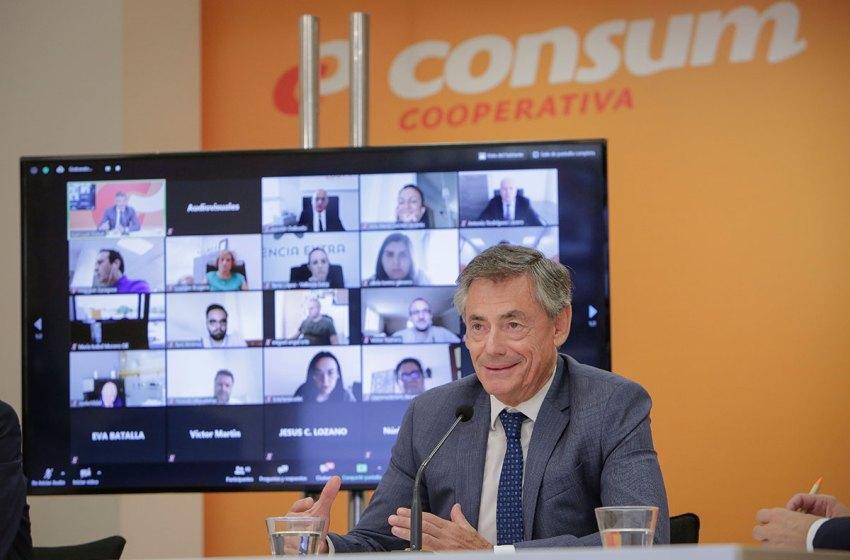 Consum facturó 2.935 millones de € en 2019, un 7,4% más que en el año anterior y sumó 668 nuevos puestos de trabajo