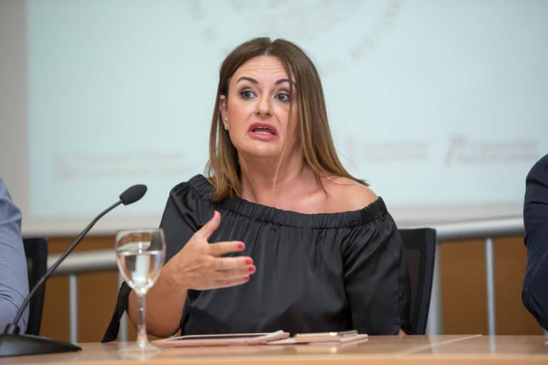 """Nuria Montes en El Intercafé: """"La recuperación del turismo ha ido peor de lo previsto a causa de los rebrotes y las limitaciones establecidas de otros países"""""""