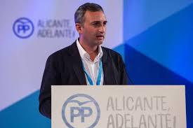 César Sánchez, nuevo secretario ejecutivo de Política Autonómica del PP