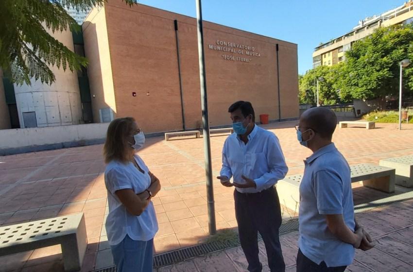 Giner pregunta a Ribó por las medidas anti-Covid en el Conservatorio Municipal José Iturbi