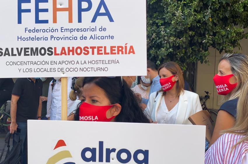 """Catalá lamenta """"la falta de sensibilidad"""" de Ribó y el PSPV con el sector de la hostelería al denegarles su petición de que se le exima de la tasa de terrazas para 2021"""