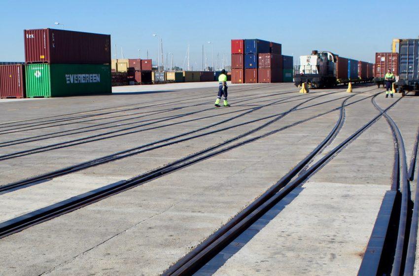 Valenciaport alerta del peligro de no tener doble plataforma para los trenes València-Castellón y Sagunto-Zaragoza