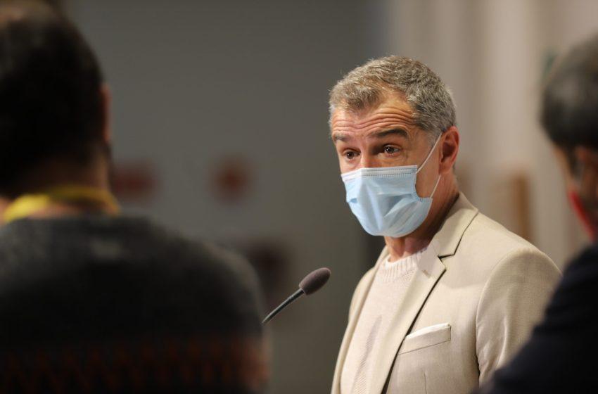 Cantó critica que el tripartito llena el pleno de Les Corts de contenidos ajenos a la pandemia para tapar su mala gestión