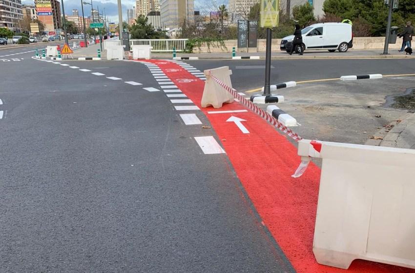 """Mundina: """"El carril bici de Gran Vía que comparte plataforma con autobús y taxi será peligroso para ciclistas, usuarios de taxi y de EMT"""""""