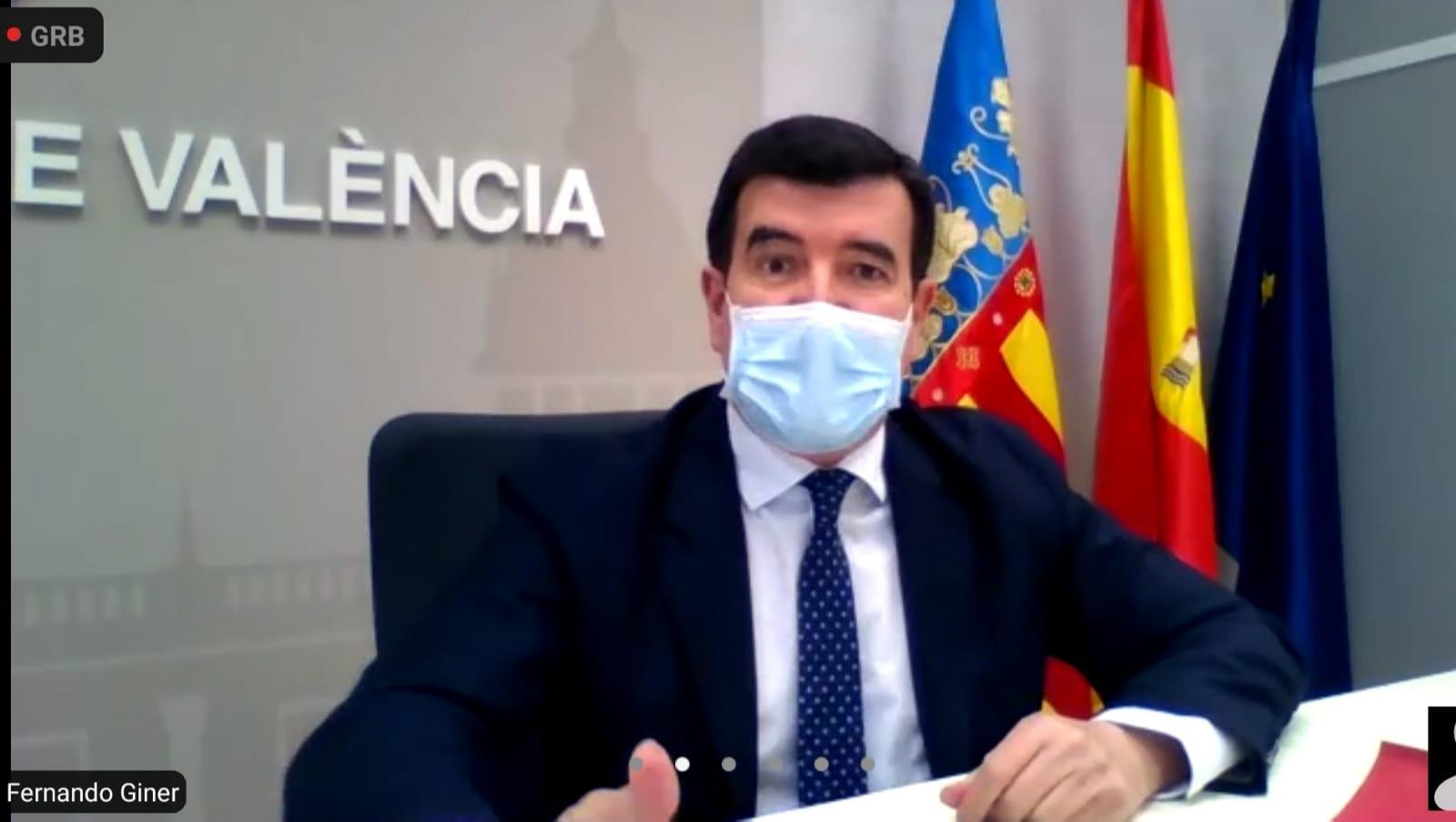 Giner lamenta que Ribó sólo ha invertido 11 euros al día durante el mes de enero en Valencia