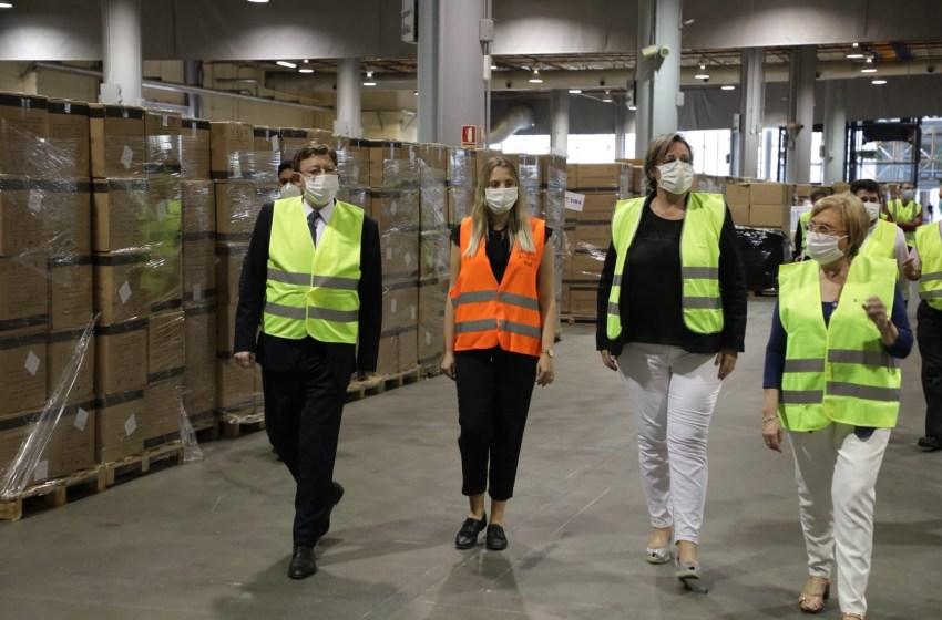 Un total de 93 empresas, el 28% de la Comunitat, garantizarán el suministro de la reserva estratégica de material sanitario de la Generalitat