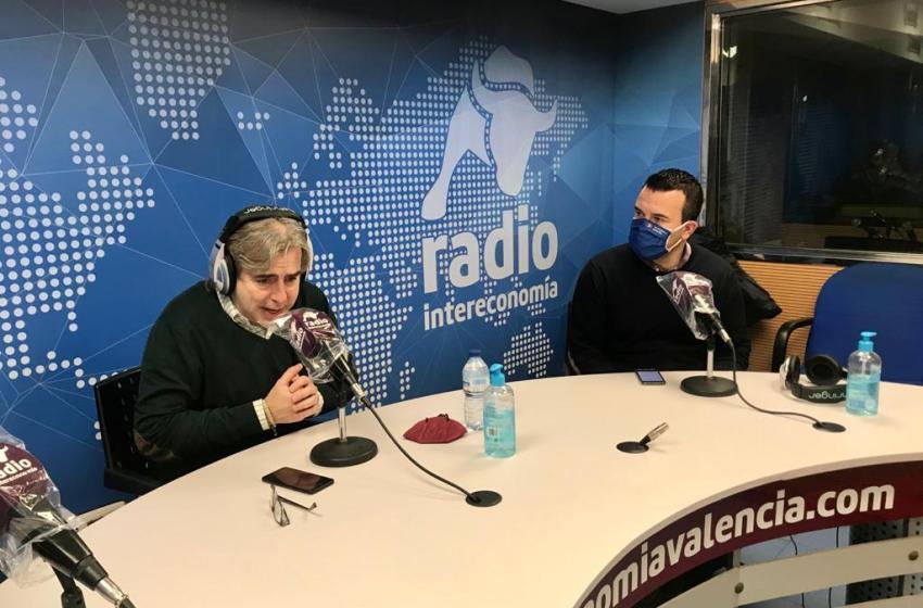"""Vicent Mompó en El Intercafé: """"Los congresos locales se han pospuesto hasta el 1 de febrero por las complicaciones sanitarias y climáticas"""""""