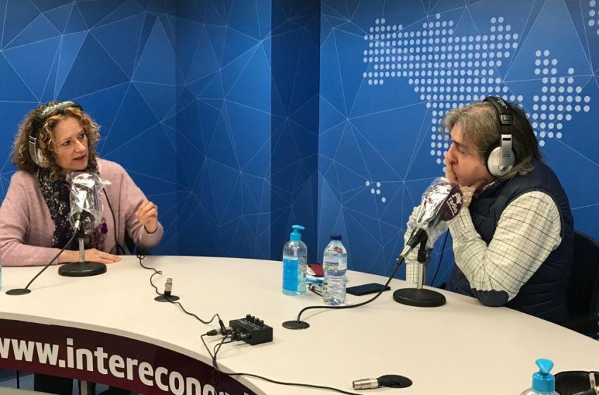"""Amparo Folgado en El Intercafé: """"Uno de los motivos por el que podrían no estar realizándose suficientes PCR en las aulas es porque no conviene mostrar las cifras reales de contagios"""""""