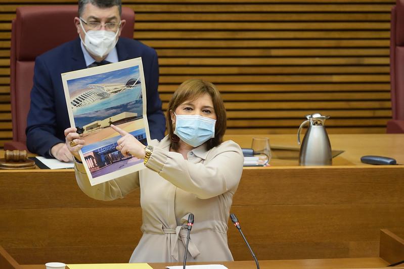 """Bonig acusa a Puig de """"no tener ningún plan sanitario ni económico ante la cuarta ola"""""""