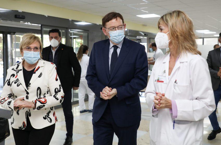 Ximo Puig destaca la fortaleza del sistema sanitario para hacer frente a la pandemia