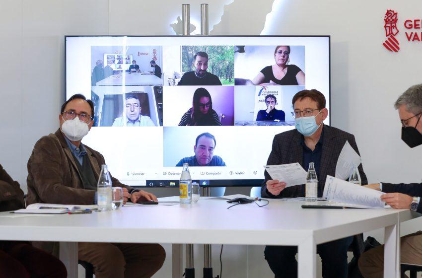 Ximo Puig anuncia que la Comunitat recibirá unos 1.000 millones de euros del plan de medidas a los sectores más afectados por la pandemia aprobado por el Gobierno