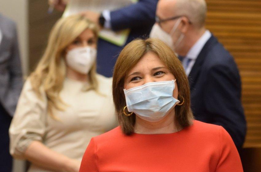 Bonig pide reunirse con la ministra Maroto para recabar apoyos del Gobierno ante la inacción de Puig