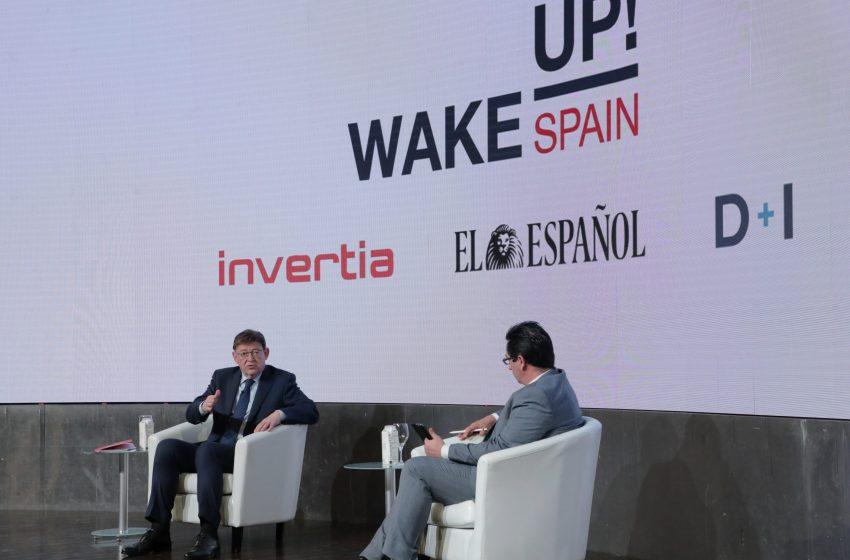 Ximo Puig avanza que la Generalitat trabaja con el Ministerio de Economía en un proyecto para digitalizar 100.000 pymes de la Comunitat Valenciana