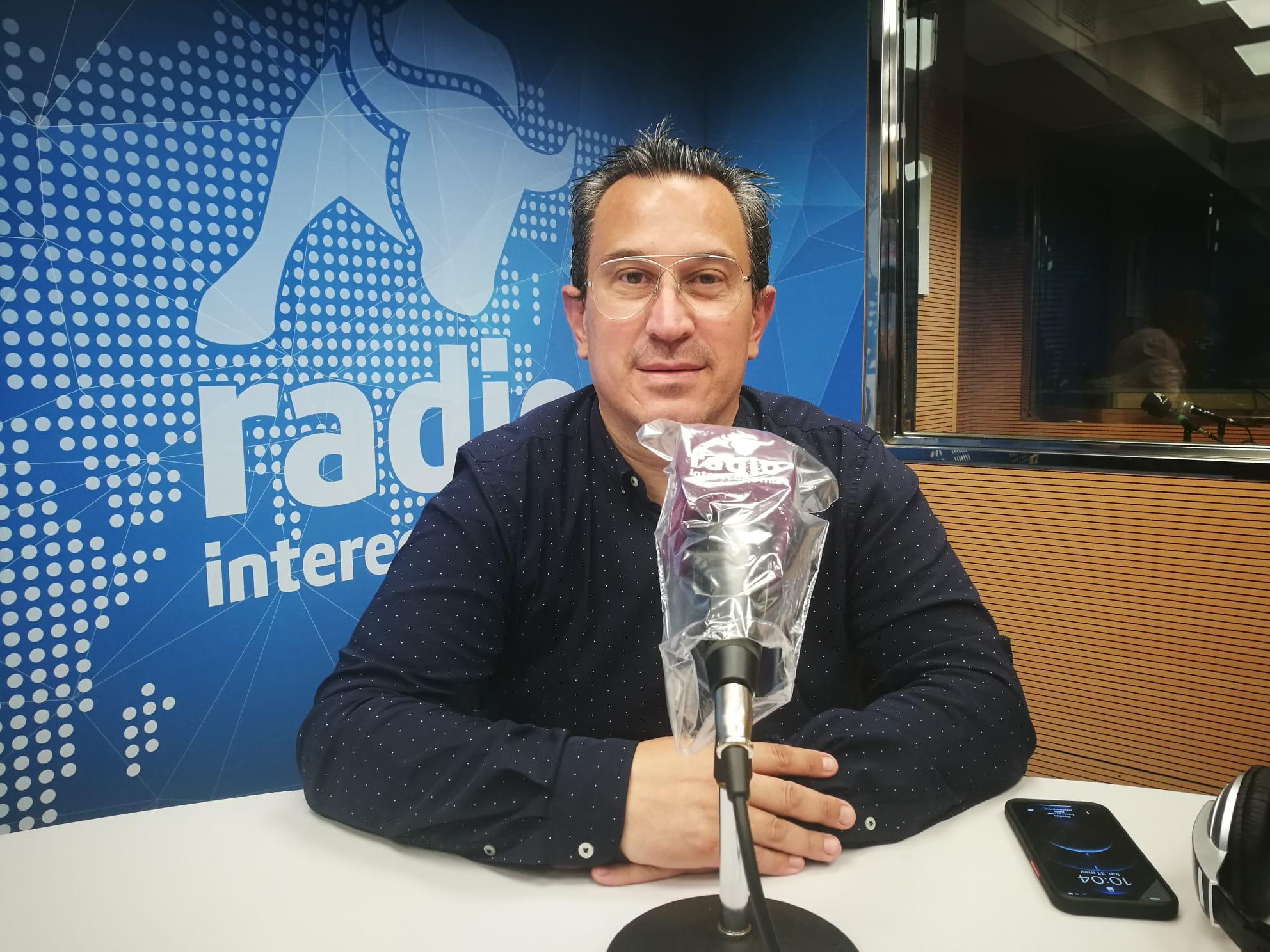 """Víctor Pérez en El Intercafé: """"El ocio reglado debe estar abierto para evitar los botellones"""""""