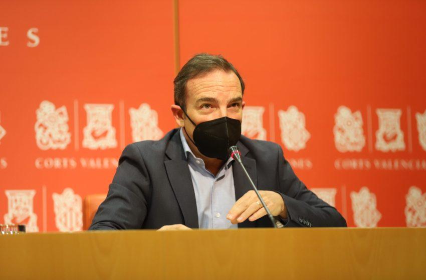 Cs exige la convocatoria de la comisión Corts-Consell de cara al frente con Andalucía para reclamar la financiación justa