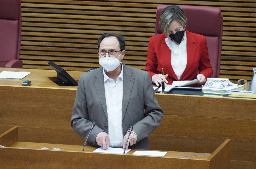 """Soler: """"El esfuerzo del Consell por mitigar el impacto socieconómico de esta crisis se puede constatar en cada ley, decreto y medida aprobada"""""""