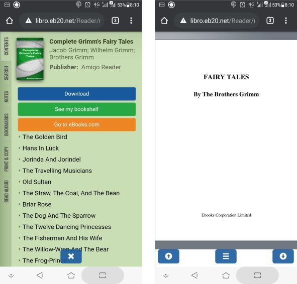 Amigo reader read ebook online mobile full version