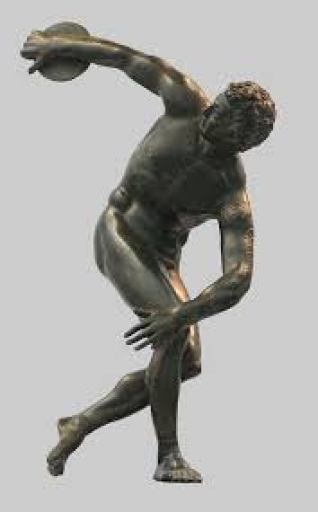 ancient Olympic athlete