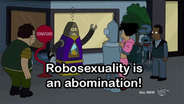 Futurama humanoid sex