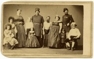 Circassian Beauties in Barnum performers