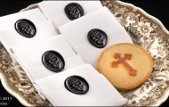 Victorian funeral biscuits (recreation)