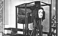 Euphonia victorian robotic talking head