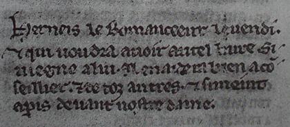 Medieval advertising spam