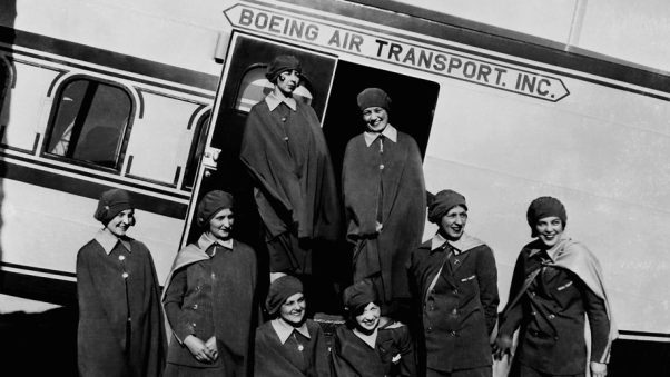 The Sky girls, airline stewardesses in the 1930s