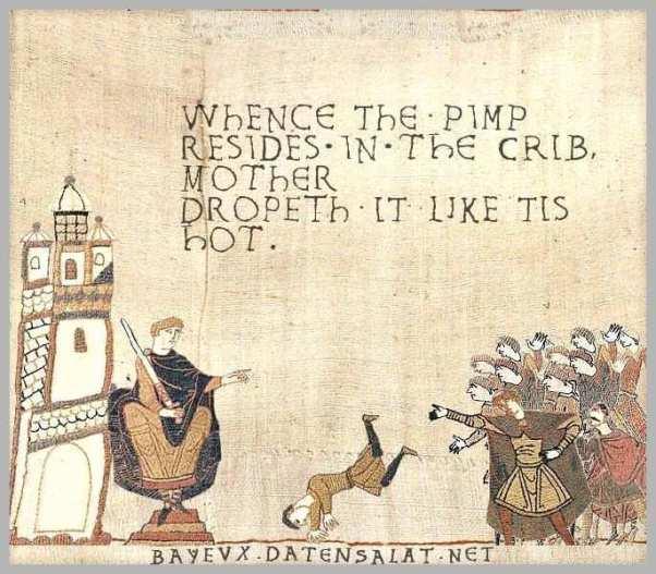 Medieval meme. Ribalds