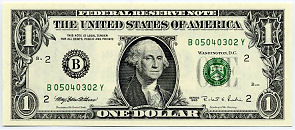 US One Dollar