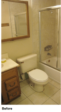 How I remodeled my bathroom for just $2,400