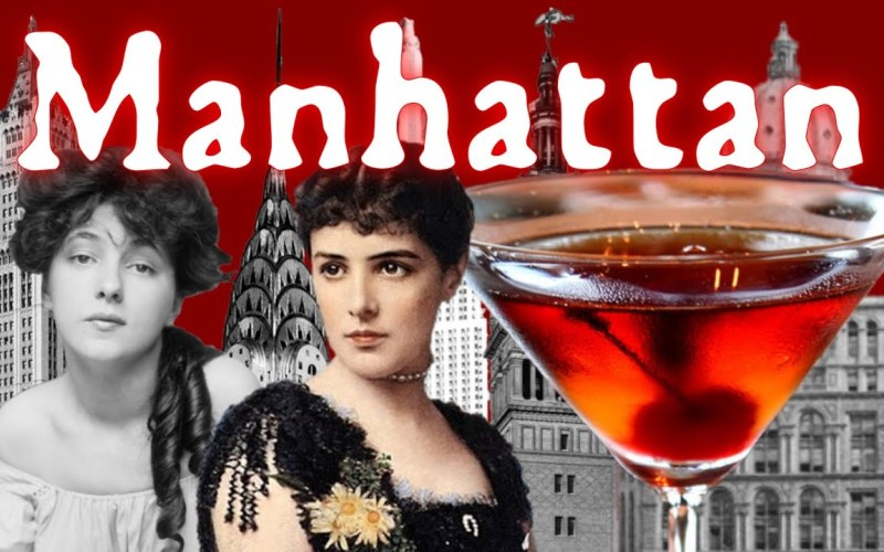 The Scandalous History of the Manhattan Cocktail