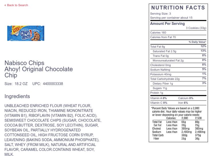 chips o hoy nutrition image