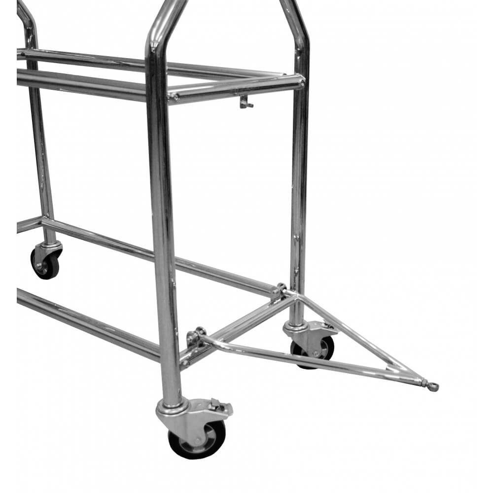 B-G Racing Wheel and Tyre Trolley, Pit Lane Equipment,