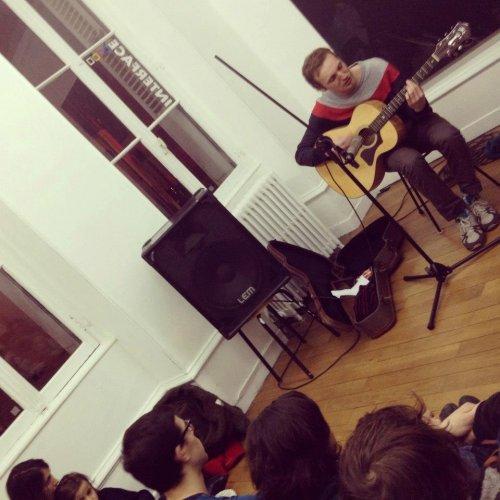 françois virot // un concert Sabotage