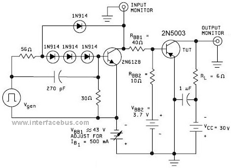 2N5003 Transistor Derating Guide Lines based on Case