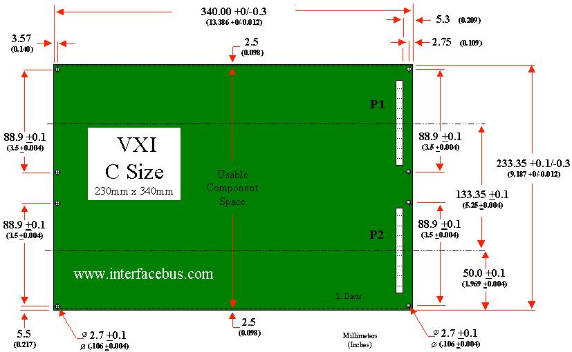 vxi bus c size