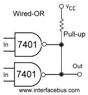 Calculation for Open Collector Resistor Pull-up values on