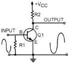 Transistor Differential Amplifier Circuit Description