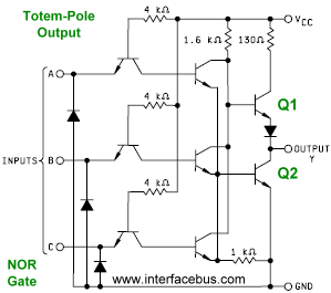 Dictionary of Electronic and Engineering Terms. Totem-Pole