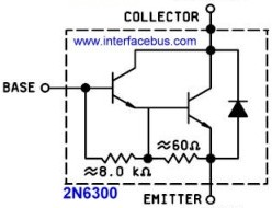 2N6300 Transistor Derating Guide Lines based on Temperature