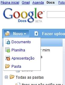 Google Docs: em português