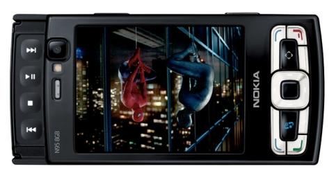 N95 8GB com SpiderMan 3