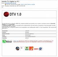 "Scam do ""DTV 1.0″"