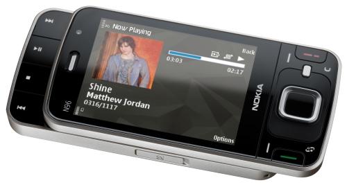 N96: 16 GB, TV digital, 5 megapixels