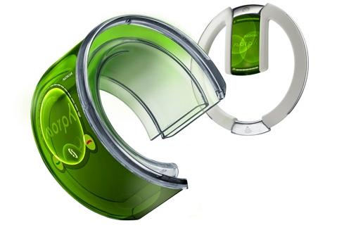 """Morph no modo """"pulseira"""" com o fone Bluetooth"""