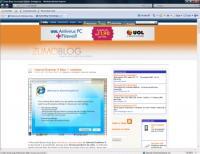 Zumo no IE: a barra superior quebrou. Dá-lhe bug pra enviar pra Microsoft.