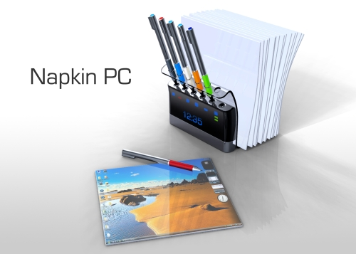 Napkin PC, de Avery Holleman